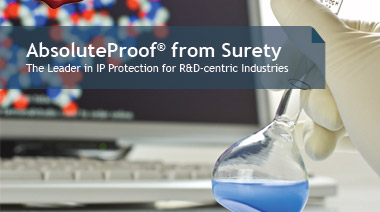 AbsoluteProof from Surety - The Leader in IP Protection for R&D-centric Industries